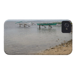 Fishing boats iPhone 4 case