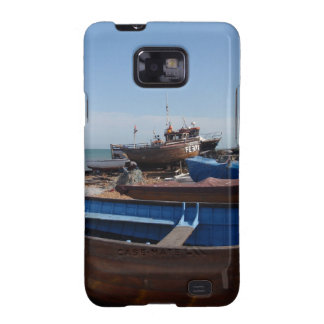 Fishing Boats In Kent Samsung Galaxy SII Cover