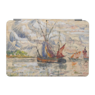 Fishing Boats in La Rochelle, c.1919-21 iPad Mini Cover