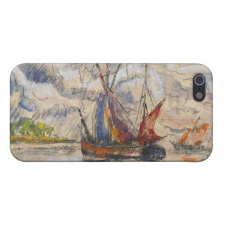 Fishing Boats in La Rochelle, c.1919-21 iPhone 5/5S Covers