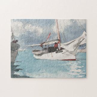Fishing Boats, Key West Jigsaw Puzzle