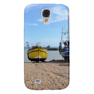 Fishing Boats On Hastings Beach HTC Vivid Covers