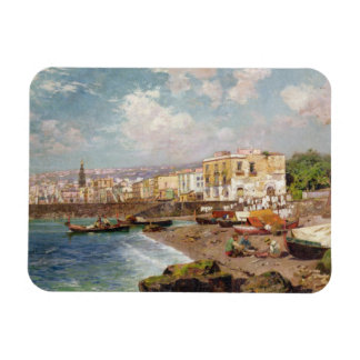 Fishing Boats on the Beach at Marinella, Naples (o Flexible Magnet