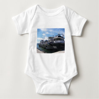 Fishing Boats On The Bosporus Baby Bodysuit