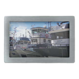 Fishing Boats On The Bosporus Belt Buckles