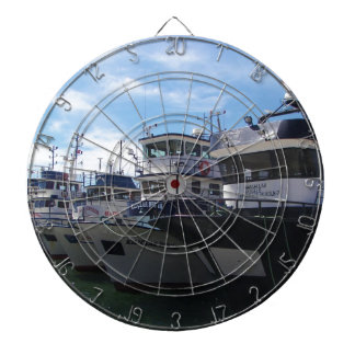 Fishing Boats On The Bosporus Dartboard