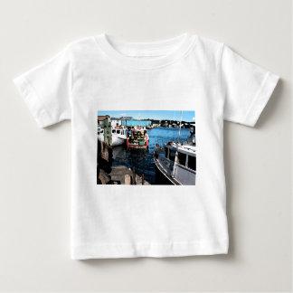 Fishing Boats Painting T Shirt