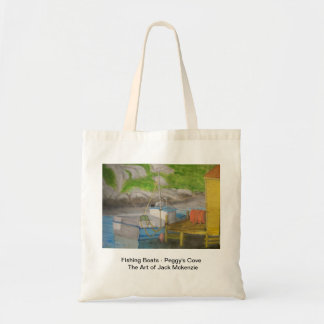 Fishing Boats - Peggy's Cove Budget Tote Bag