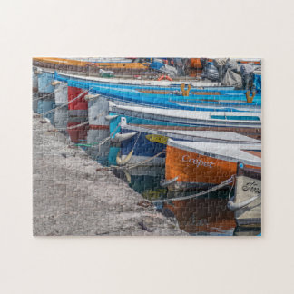 Fishing boats photo puzzle