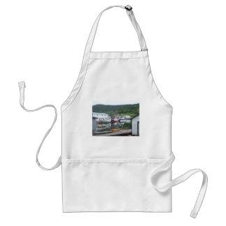 Fishing Boats Standard Apron