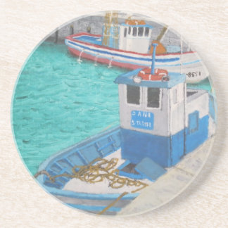 Fishing Boats-Tarifa Spain Coaster