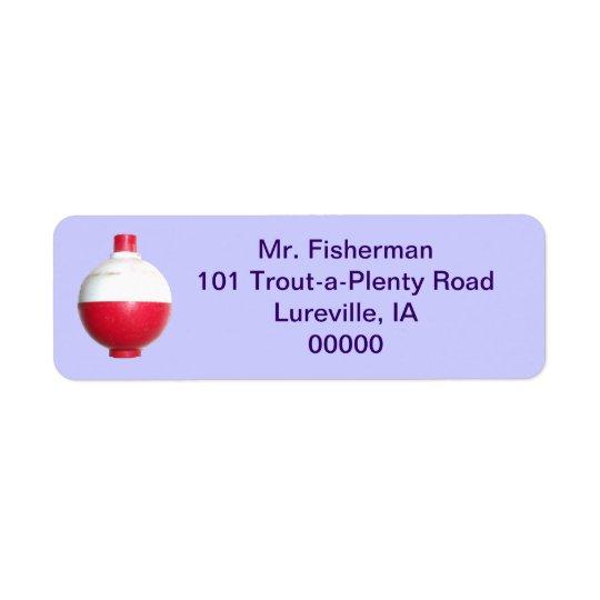 Fishing Bobber Address Labels