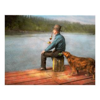 Fishing - Booze hound 1922 21.5 Cm X 28 Cm Flyer