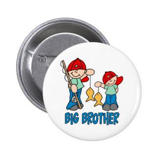 Fishing Buddies Big Brother 6 Cm Round Badge