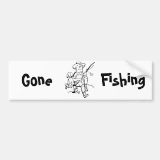 Fishing Buddies Bumper Sticker