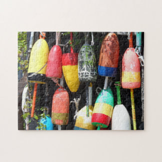 Fishing Buoys- Maine Jigsaw Puzzle