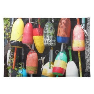 Fishing Buoys- Maine Placemat