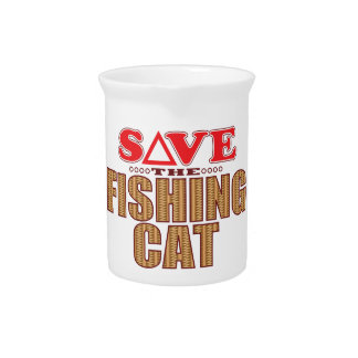 Fishing Cat Save Pitcher