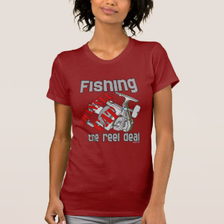 Fishing Channel Cat The Reel Deal Fishing Shirts