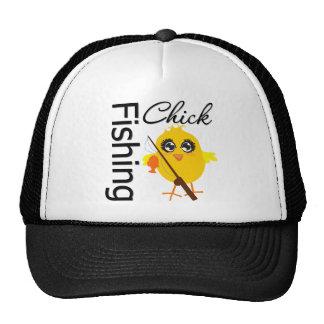 Fishing Chick Mesh Hat