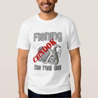 Fishing Chinook  Salmon The Reel Deal Fishing Shirts