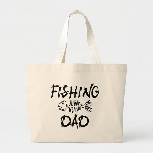 Fishing Dad Tote Bag
