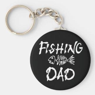 Fishing Dad Keychain