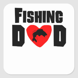 Fishing Dad Sticker