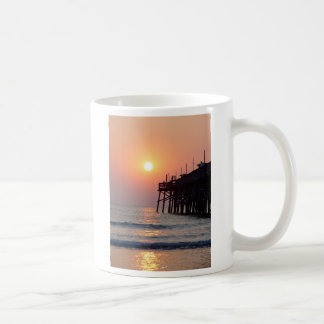 Fishing Daytona Beach Sunglow Pier Sunrise Mug