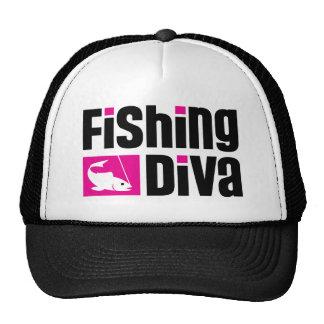 Fishing Diva Trucker Hats