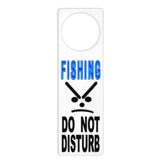 Fishing Do Not Disturb Door Hanger