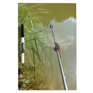 Fishing Dragonfly Dry-Erase Boards
