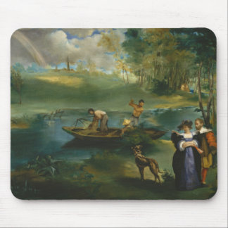 Fishing -  Édouard Manet Mouse Pad