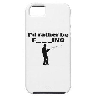 fishing fan iPhone 5 cover