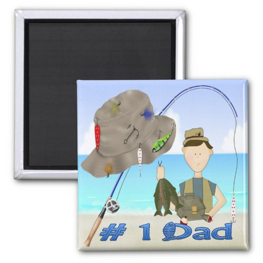 Fishing Father's Day Magnet