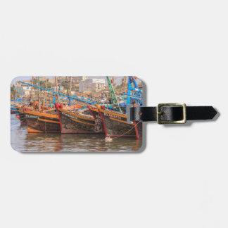 Fishing fleet luggage tag