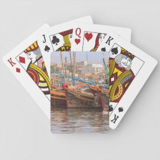 Fishing fleet playing cards