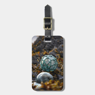 Fishing float in tide pool, Alaska Luggage Tag