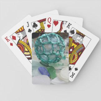 Fishing float on glass, Alaska Poker Deck