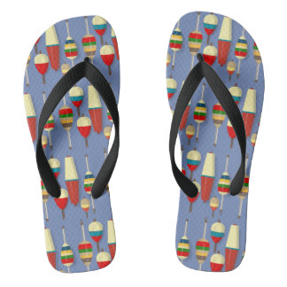Fishing Floats / Bobbers Flip Flops