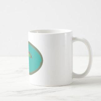 fishing fly basic white mug