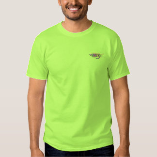 Fishing Fly Embroidered T-Shirt