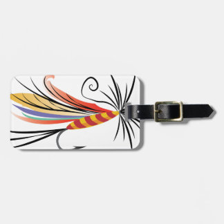 Fishing Fly Luggage Tag