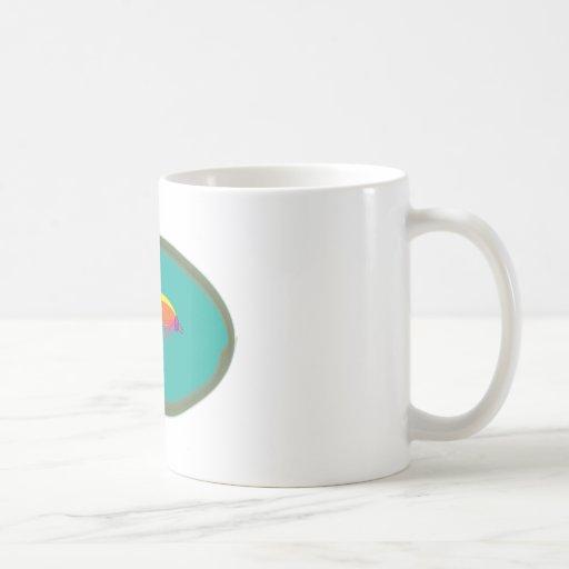 fishing fly coffee mugs