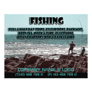 Fishing flyers - customize