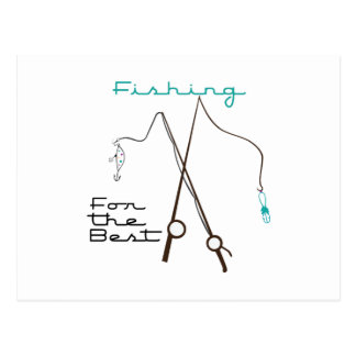 Fishing For Best Post Card