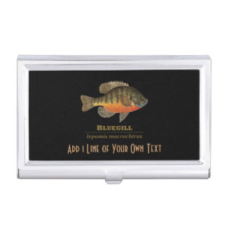 Fishing for Bluegill Case For Business Cards