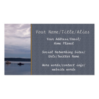 Fishing For Shrimp Pack Of Standard Business Cards