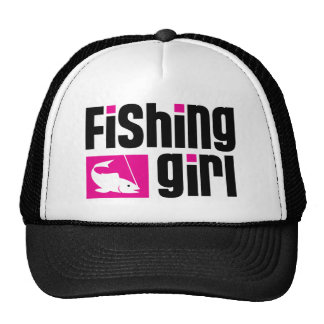 Fishing Girl Hats