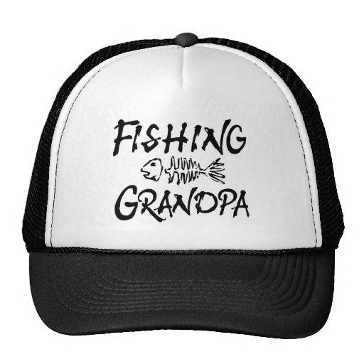 Fishing Grandpa Mesh Hat
